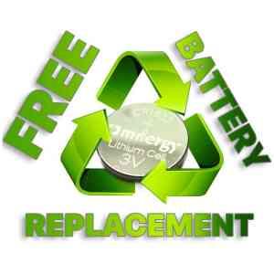 TireMinder Battery Replacement Program
