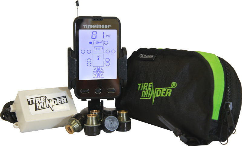 TireMinder TPMS 4 Transmitter Kit (Includes Booster)