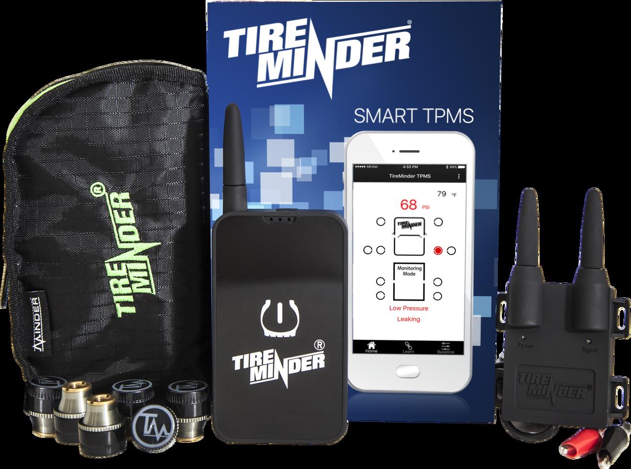 TireMinder Smart TPMS - Kit Contents - 6 Tire Kit