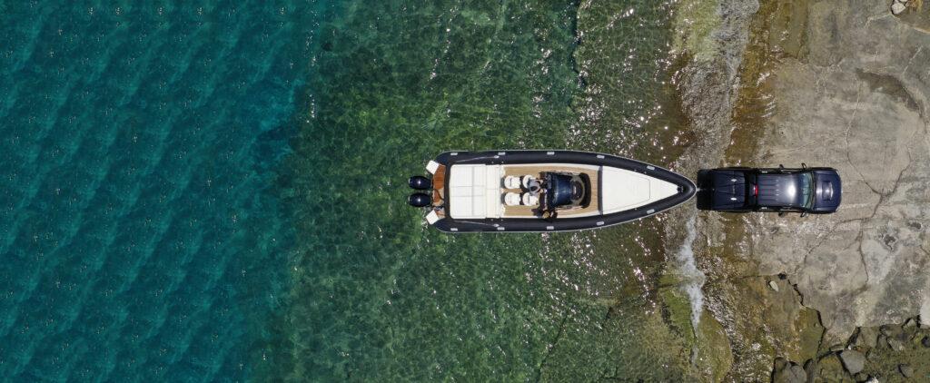 Launching Boat
