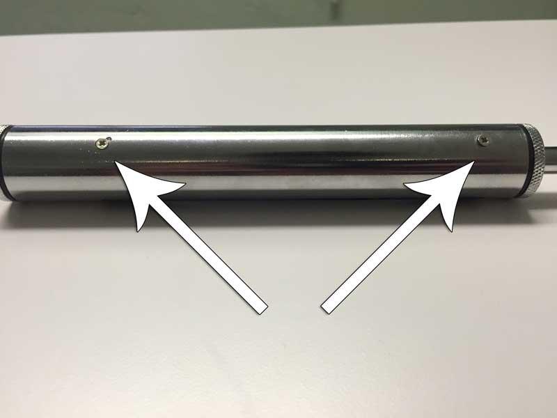 TireMinder TMG-Dual-2 Remove Rear Screws
